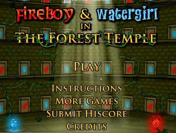 Fireboy and watergirl to play
